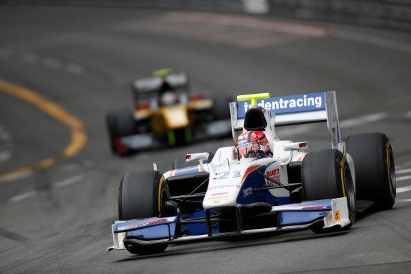 2013 GP2 Series. Round 4.  Monte Carlo, Monaco. 54th May 2013. Saturday Race. Kevin Ceccon (ITA, Trident Racing). Action.  World Copyright: Glenn Dunbar/GP2 Series Media Service. Ref: _89P2774