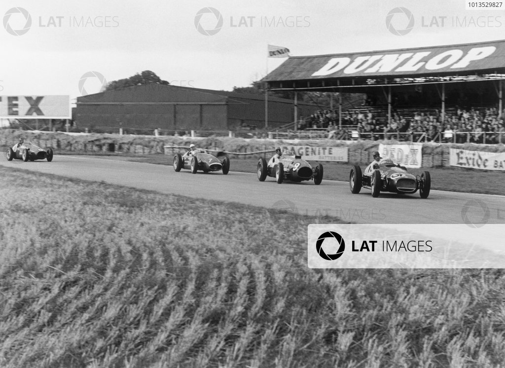 Goodwood, East Sussex, England. 25th September 1954.