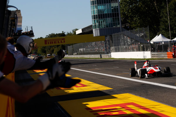 2015 GP3 Series Round 6. Autodromo di Monza, Italy. Sunday 6 September 2015. Marvin Kirchhofer (GER, ART Grand Prix)  World Copyright: Sam Bloxham/LAT Photographic. ref: Digital Image _G7C1833