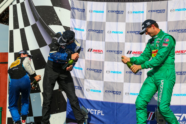 28-29 August 2015, Alton, Virginia USA IMSA Lites, Race 2, L1 Podium ?2015, Jake Galstad LAT Photo USA