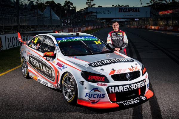 2017 Supercars Championship Round 1.  Clipsal 500, Adelaide, South Australia, Australia. Thursday March 2nd to Sunday March 5th 2017. Tim Slade driver of the #14 Freightliner Racing Holden Commodore VF. World Copyright: Daniel Kalisz/LAT Images Ref: Digital Image 020217_VASCR1_DKIMG_1737.JPG