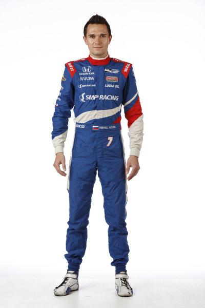2017 IndyCar Media Day - Driver portrait Phoenix Raceway, Arizona, USA Thursday 9 February 2017 Mikhail Aleshin World Copyright: Michael L. Levitt/LAT Images ref: Digital Image _AT_9669