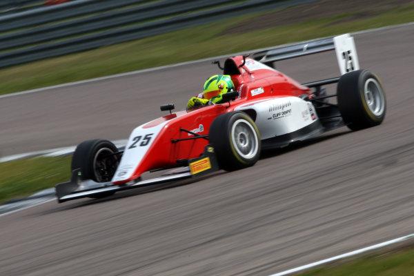 2017 BRDC Formula 3 Championship, Rockingham, England. 29th-30th April 2017, Nick Worm (GER) Hillspeed BRDC F3 World copyright. JEP/LAT Images