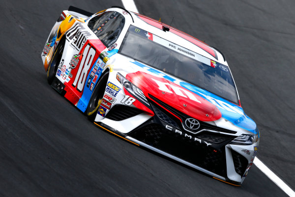 Monster Energy NASCAR Cup Series Coca-Cola 600 Charlotte Motor Speedway, Concord, NC USA Thursday 25 May 2017 Kyle Busch, Joe Gibbs Racing, M&M's Red, White & Blue Toyota Camry World Copyright: Lesley Ann Miller LAT Images