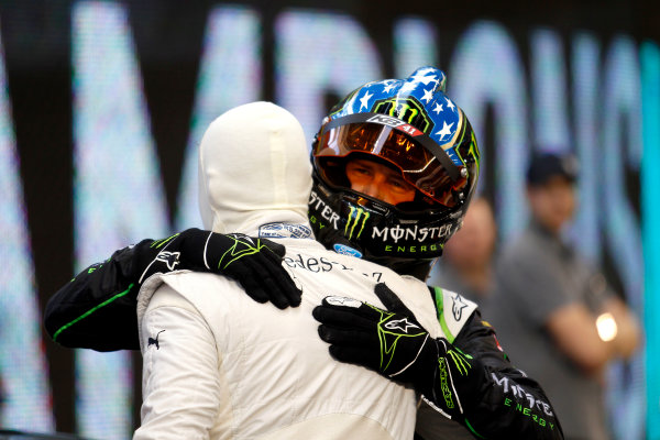 2017 Race of Champions Miami, Florida, USA Sunday 22 January 2017 David Coulthard and Kurt Busch World Copyright: Alexander Trienitz/LAT Photographic ref: Digital Image 2017-RoC-MIA-AT2-2964