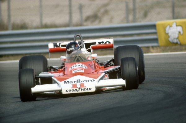Zandvoort, Holland. 27th - 29th August 1976. 
