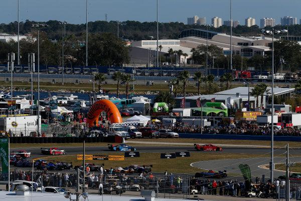 23-26 January, 2014, Daytona Beach, Florida, USA  #99, Chevrolet, Corvette DP, P, Alex Gurney, John Fogarty, Memo Gidley, Darren Law in the lead © 2014, Michael L. Levitt LAT Photo USA