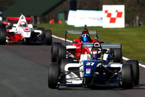 2015 BRDC Formula 4 Championship, Oulton Park, Cheshire. 4th - 6th April 2015. Sisa Ngebulana (RSA) HHC Motorsport BRDC F4. World Copyright: Ebrey / LAT Photographic.