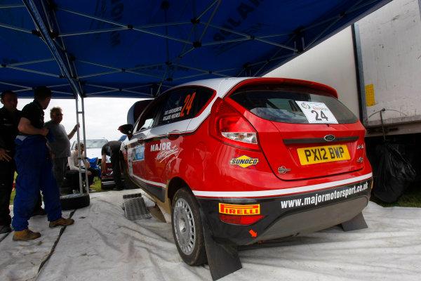 2014 MSA British Rally Championship.  Jim Clark Rally. 30th - 31st May 2014. Gus Greensmith / Melanie Holmes Ford Fiesta. World Copyright: Ebrey / LAT Photographic.