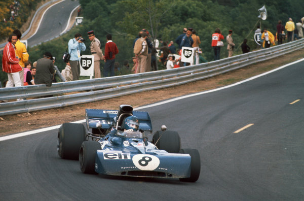 1972 French Grand Prix.  Clermont-Ferrand, France. 30th June - 2nd July 1972.  Patrick Depailler, Tyrrell 004 Ford.  Ref: 72FRA06. World Copyright: LAT Photographic