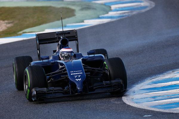 2014 F1 Pre Season Test 1 - Preview Circuito de Jerez, Jerez, Spain. Wednesday 29 January 2014. Valtteri Bottas, Williams FW36 Mercedes. World Copyright: Andrew Ferraro/LAT Photographic. ref: Digital Image _79P1207