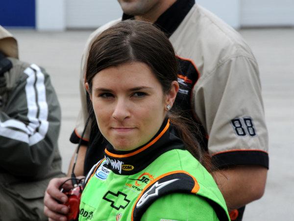 18-20 December, 2009, Daytona Beach, Florida USADanica Patrick gets ready for her first stock car test on a big oval.©2009, Paul Webb, USALAT Photographic