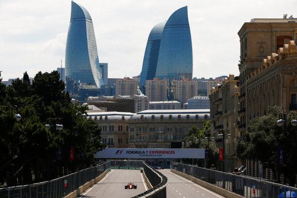 Baku City Circuit, Baku, Azerbaijan. Friday 23 June 2017. Fernando Alonso, McLaren MCL32 Honda. World Copyright: Andrew Hone/LAT Images ref: Digital Image _ONY8373