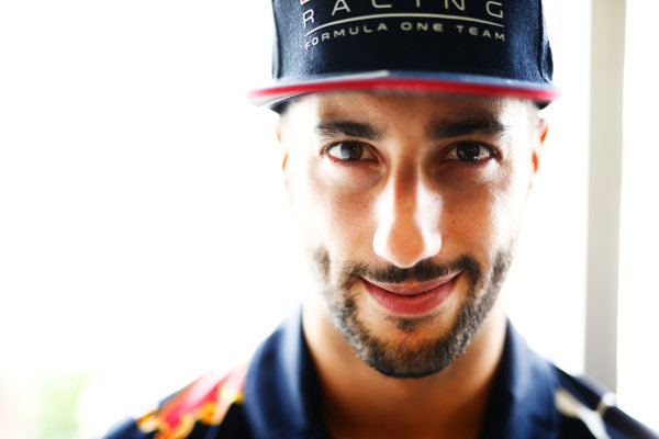 Baku City Circuit, Baku, Azerbaijan. Thursday 22 June 2017. Daniel Ricciardo, Red Bull Racing. World Copyright: Andrew Hone/LAT Images ref: Digital Image _ONZ5844