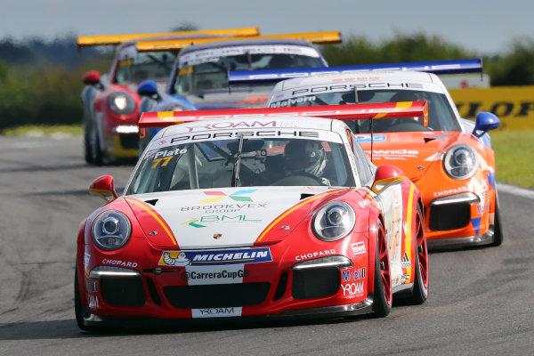 2017 Porsche Carrera Cup GB,  Snetterton. 29th-30th July 2017, Lewis Plato (GBR) JTR Porsche Carrera Cup World copyright. JEP/LAT Photographic