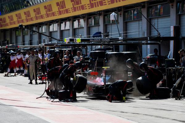 2017 FIA Formula 2 Round 5. Red Bull Ring, Spielberg, Austria. Saturday 8 July 2017. Alexander Albon (THA, ART Grand Prix).  Photo: Zak Mauger/FIA Formula 2. ref: Digital Image _56I3060