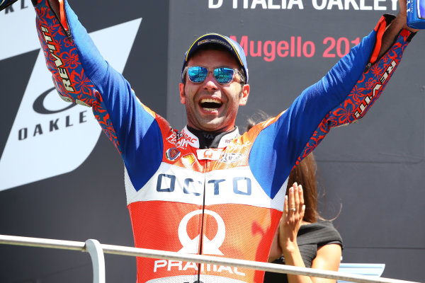 2017 MotoGP Championship - Round 6 Mugello, Italy Sunday 4 June 2017 Podium: Danilo Petrucci, Pramac Racing World Copyright: Gold & Goose Photography/LAT Images ref: Digital Image 674853