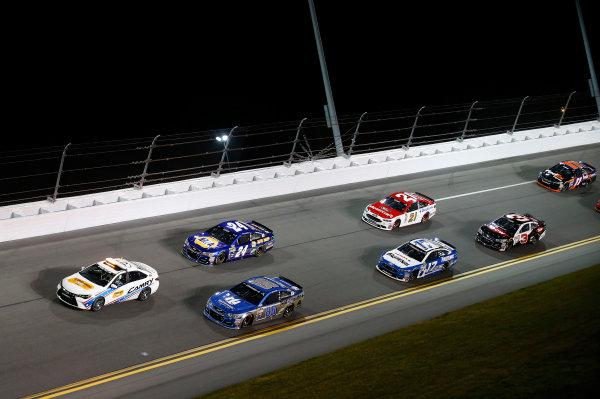 18 February, 2016, Daytona Beach, Florida USA Dale Earnhardt Jr Chase Elliott ©2016, Matthew T. Thacker LAT Photo USA