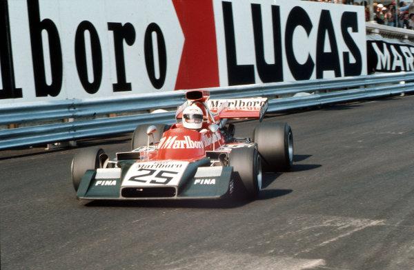 Monte Carlo, Monaco.31/5-3/6 1973.  Howden Ganley (Williams FW03 Ford).  World Copyright - LAT Photographic