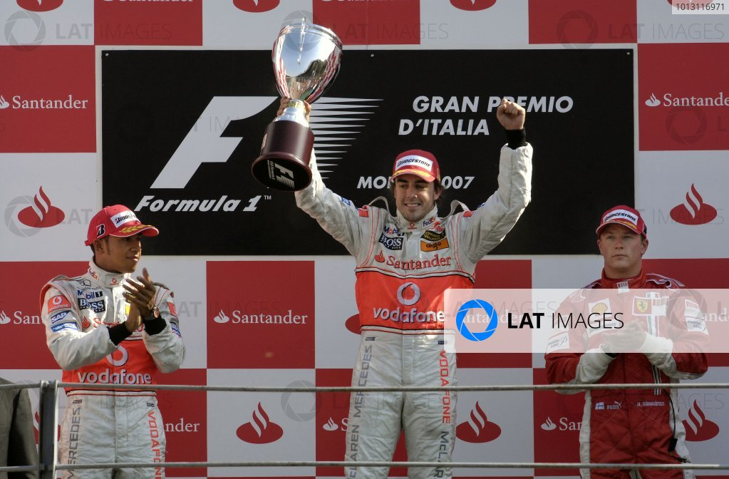 2007 Italian Grand Prix - Sunday Race