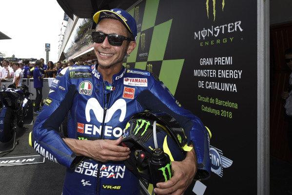 Podium: Valentino Rossi, Yamaha Factory Racing.
