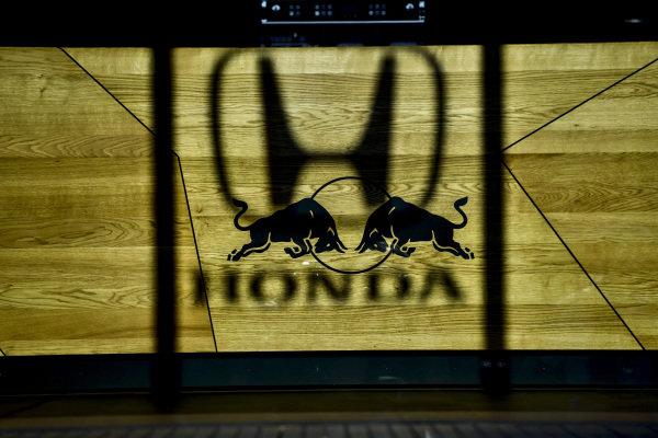 Honda and Red Bull logo
