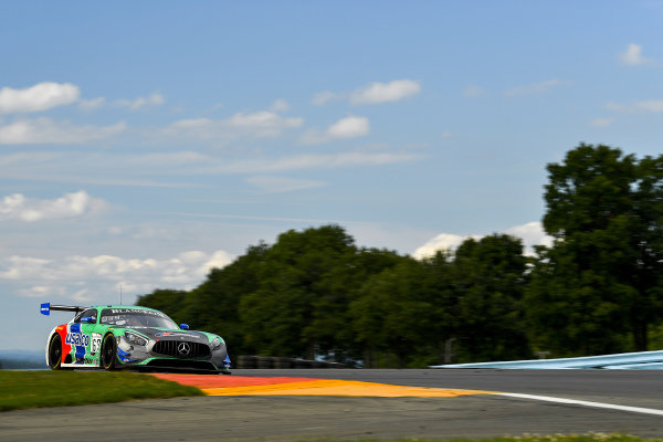 #63 Mercedes-AMG GT3 of David Askew and Ryan Dalziel with DXDT Racing
