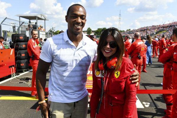 Actor Anthony Mackie on the grid