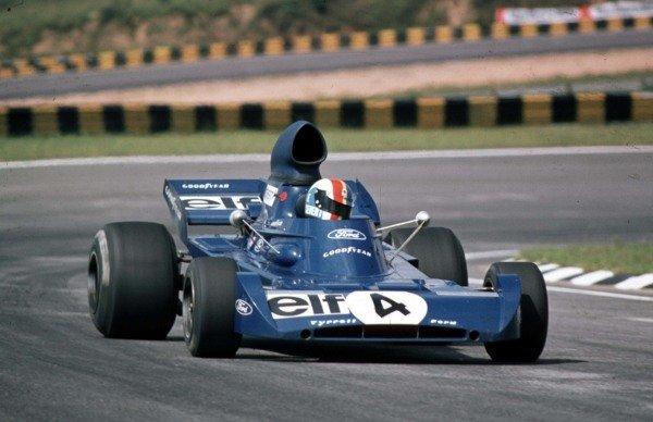1973 Brazilian Grand Prix.  Interlagos, Sao Paulo, Brazil. 9-11th February 1973.  Francois Cevert, Tyrrell 006 Ford, 10th position.  Ref: 73BRA10. World Copyright - LAT Photographic