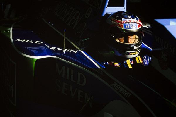 Michael Schumacher, Benetton B194 Ford.