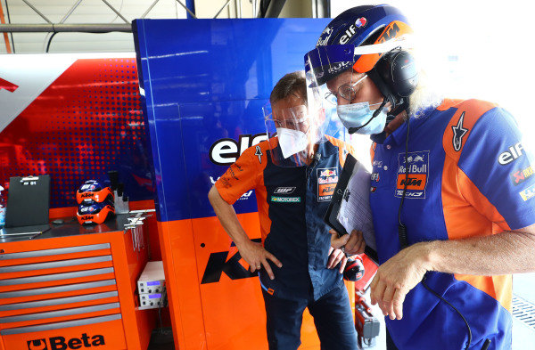 Mike Leitner, Guy Coulon, Red Bull KTM Tech 3.