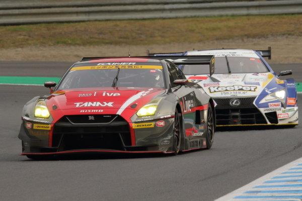 GT300 Winner Katsuyuki Hiranaka & Hironobu Yasuda, GAINER TANAX Nissan GT-R
