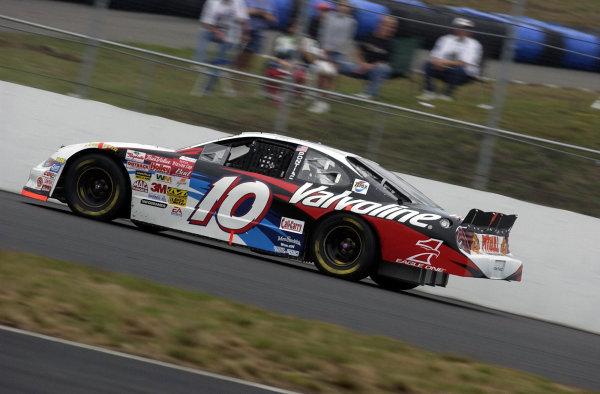2002 NASCAR,New Hampshire Intl. Speedway,Sept 13-15, 2002 NASCAR, Loudon,NH . USA -Johnny Benson at speed,Copyright-Robt LeSieur2002LAT Photographic