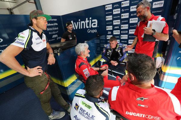 Rubens Xaus, Luigi Dal'Igna, Ducati, Tito Rabat, Avintia Racing.