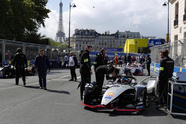 Oliver Rowland (GBR), Nissan e.Dams, Nissan IMO1 starts on pole