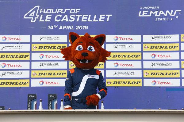 Rooky on the podium