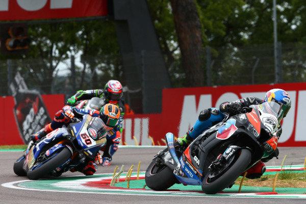 Toprak Razgatlioglu, Turkish Puccetti Racing, Michael van der Mark, Pata Yamaha.