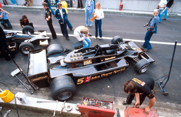 1978 Belgian Grand Prix.Zolder, Belgium.19-21 May 1978.The new Lotus 79 Ford, which won in its maiden Grand Prix.Ref-78 BEL 05.World Copyright - LAT Photographic