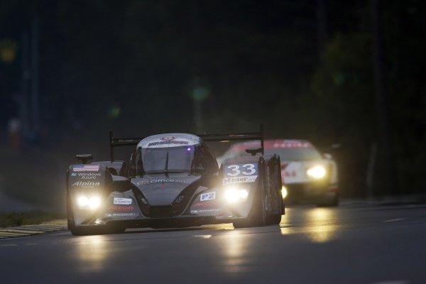Scott Tucker (USA) / Christophe Bouchut (FRA) / Joao Barbosa (POR), Level 5 Motorsports Lola HPD. Le Mans 24 Hours, Le Mans, France, Qualifying, 8-9 June 2011.