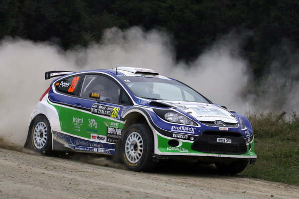 2010 FIA World Rally ChampionshipRound 05Rally New Zealand 7 - 9 May  2010Xavier Pons, Ford Fiesta S 2000, actionWorldwide Copyright: McKlein/LAT