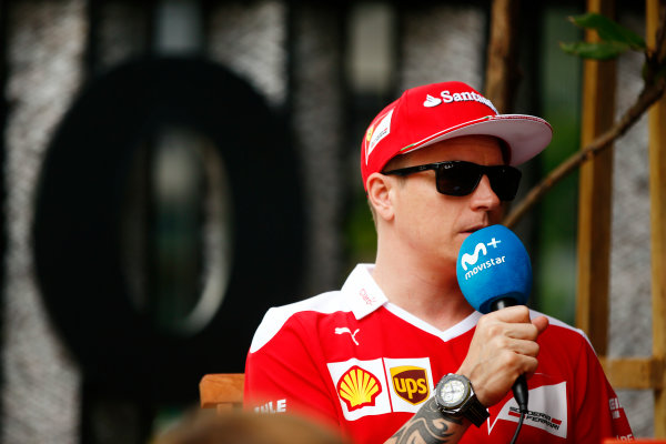 Sepang International Circuit, Sepang, Malaysia. Thursday 29 September 2016. Kimi Raikkonen, Ferrari. World Copyright: Andy Hone/LAT Photographic ref: Digital Image _ONY9128