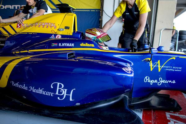 2016 GP3 Series Test 5. Yas Marina Circuit, Abu Dhabi, United Arab Emirates. Wednesday 30 November 2016. Raoul Hyman (RSA, DAMS)  Photo: Zak Mauger/GP3 Series Media Service. ref: Digital Image _L0U3281