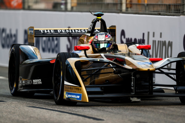 2017/2018 FIA Formula E Championship. Round 1 - Hong Kong, China. Saturday 02 December 2017. Jean Eric Vergne (FRA), TECHEETAH, Renault Z.E. 17. Photo: Sam Bloxham/LAT/Formula E ref: Digital Image _J6I3914
