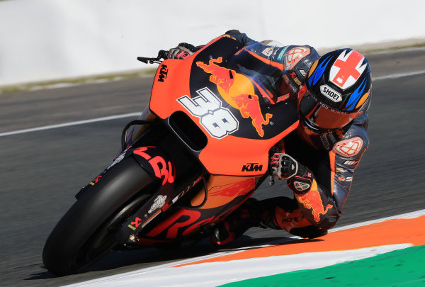 2017 MotoGP Championship - Valencia test, Spain. Tuesday 14 November 2017 Bradley Smith, Red Bull KTM Factory Racing World Copyright: Gold and Goose / LAT Images ref: Digital Image 706829