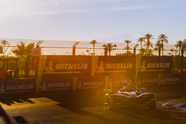 2017/2018 FIA Formula E Championship.Round 3 - Marrakesh ePrix.Circuit International Automobile Moulay El Hassan, Marrakesh, Morocco.Saturday 13 January 2018.Alex Lynn (GBR), DS Virgin Racing, DS Virgin DSV-03.Photo: Alastair Staley/LAT/Formula Eref: Digital Image _MGL1982