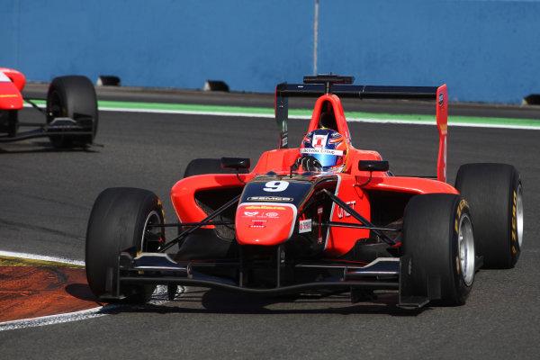 2012 GP3 Series, Round 3.Valencia, Spain. 24th June 2012. Sunday Race 2. Tio Ellinas (CYP, Marussia Manor Racing) Action. World Copyright:  Daniel Kalisz/LAT Photographic Ref: Digital Image IMG_2031