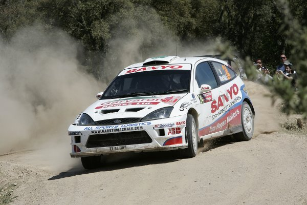 2006 FIA World Rally Championship.Round 7. 18th - 21st May 2006.Rally of Italy, Sardinia.Gareth MacHale, Ford, action.World Copyright: McKlein/LAT