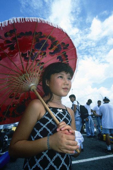 Sepang, Kuala Lumpur, Malaysia. 15-17 October 1999. Atmosphere. Ref: 99MAL53. World Copyright - LAT Photographic