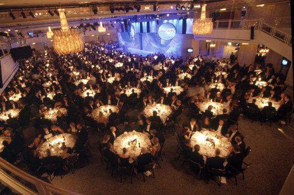 1997 Autosport Awards.Grosvenor House Hotel, Park Lane, London, Great Britain. 7 December 1997.The Great Room.World Copyright: Dixon/LAT PhotographicRef: 35mm transparency