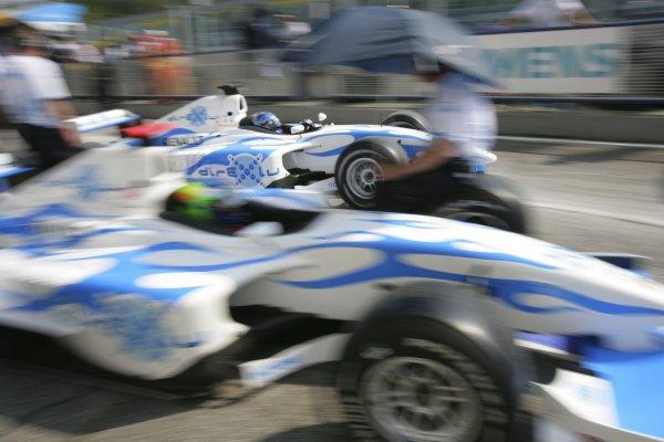 2006 GP2 Series. Round 2.Imola Autodromo Enzo e Dino Ferrari, Italy 21st April 2006.Friday Qualifying. Clivio Piccione (MC, DPR Direxiv). Action. World Copyright: Andrew Ferraro/GP2 Series Media Service.Ref: Digital Image Only.ZP9O9984 jpg